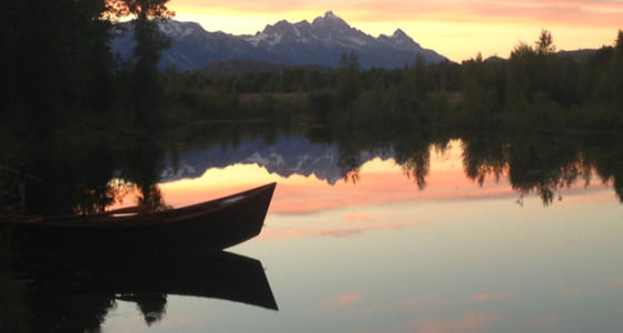 river-tour-jackson-hole-sunset